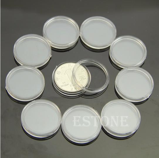 23 мм пластиковые капсулы для монет