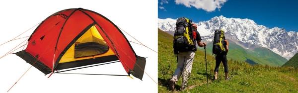 Выбираем туристическую палатку