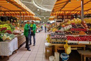 рынки в Москве 2017