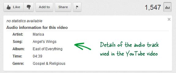 Как найти песни, используемые в видео на YouTube