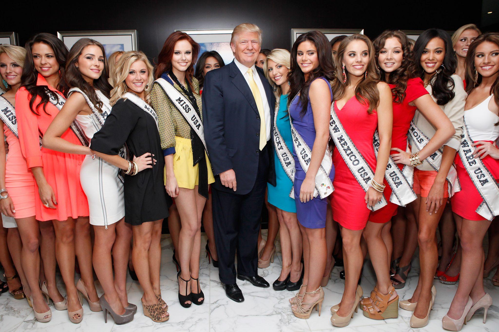 Дональд Трамп конкурс мисс вселенная